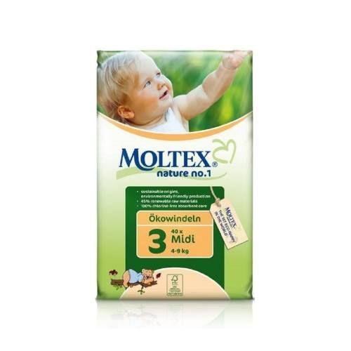 Cu bucurie si mandrie va anuntam ca, incepand de astazi, Organic Baby este distributor al gamei germane de scutece eco - Moltex.  Scutecele eco Moltex Nature No.1 sunt de acum disponibile pe www.organicbaby.ro