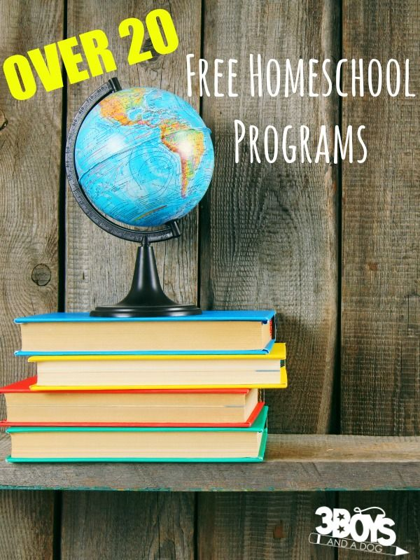 Free Homeschool Programs - I've gathered a list of over 20 free homeschool programs that are great for kids of all ages – from preschoolers to high schoolers!