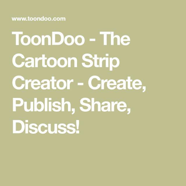 ToonDoo - The Cartoon Strip Creator - Create, Publish, Share, Discuss!