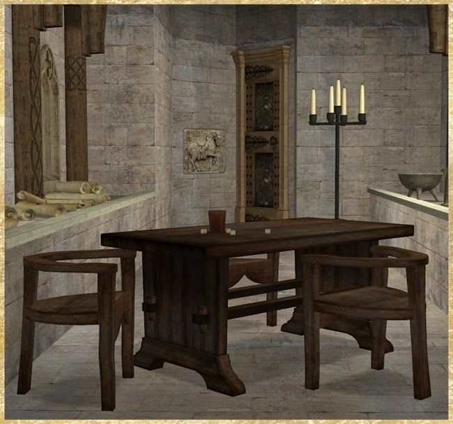 87 best medieval sims 2: dining room images on pinterest