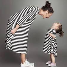 Resultado de imagen para vestidos iguales para madre e hija