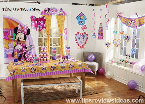 Minnie Mouse First Birthday Party Theme