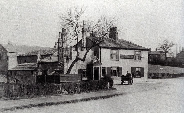 The Old George, Garforth, Leeds (Before 1920)
