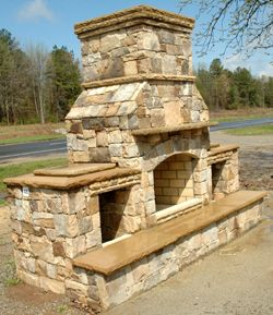 outdoor fireplaces | Outdoor fireplace kits – aesthetic pleasure | Top Mantels