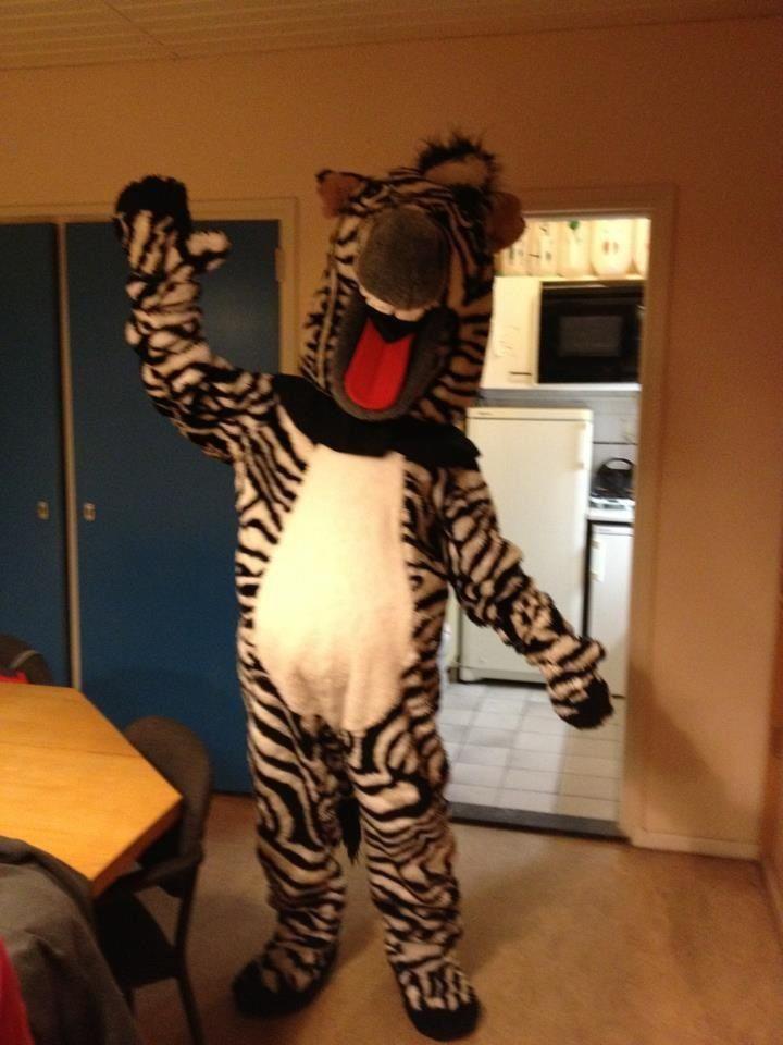 Ton as Zebra