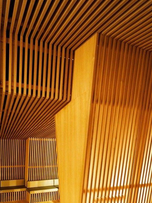 Thermalbad Zürich-Umwandlung einer Brauerei in ein Spa-Holz design