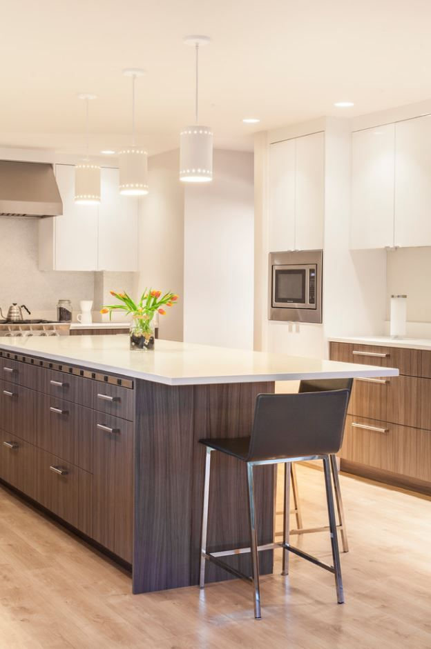 The Complete Renovation Of A Seattle Area Home Includes This Stunning  Modern Kitchen By MLB
