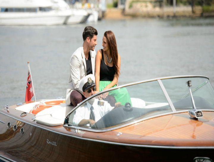 The Bachelor's Snezana Markoski shares a video of Sam Wood's beautiful proposal.