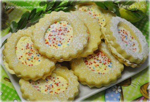 Veľkonočné likérové koláčiky - Recept