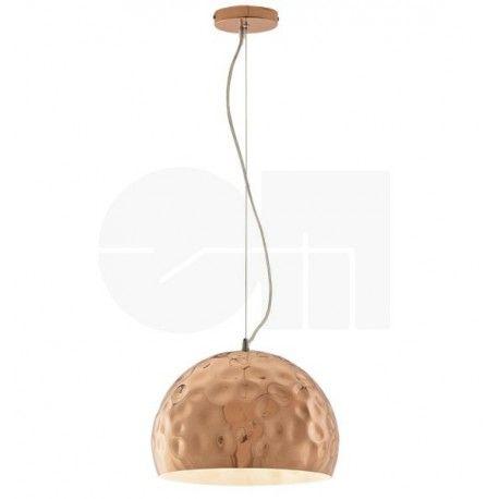 Φωτιστικό κρεμαστό ανάγλυφο μεταλλικό σε χάλκινο χρώμα! #bronze #lighting #bronzelighting #luminaire #livingroom #kitchenlight #decor #decoration #metal #style #modern #design #χάλκινο #φωτιστικό #viokef