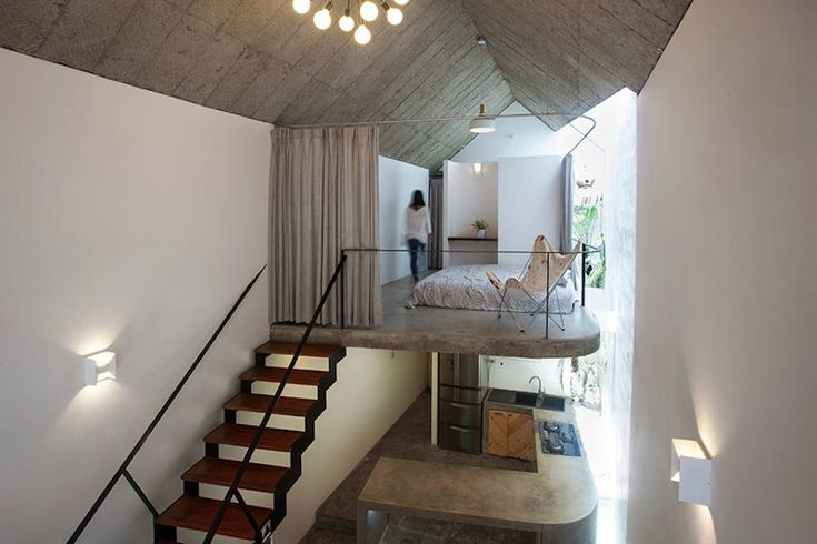 Concrete & Bricks Home in Vietnam by Trong Nghia Architects