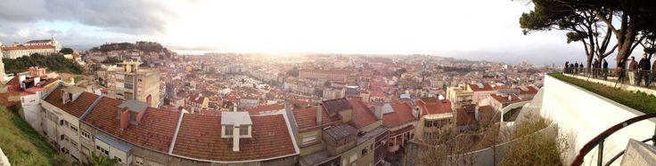 Miradouro Nossa Senhora do Monte | Panorâmica sobre Lisboa