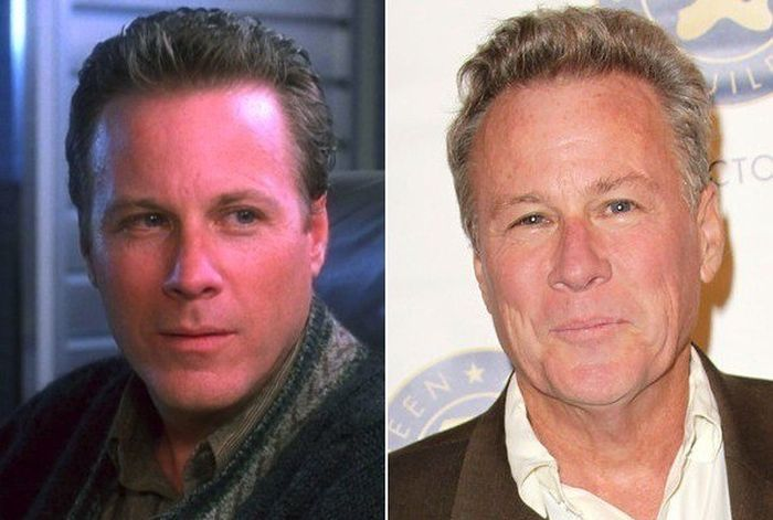 John Heard played Geraldine Page's son in The Trip to Bountiful 1985. photo not from movie