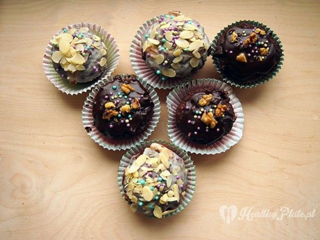 chocolate muffins / magdalenas de chocolate