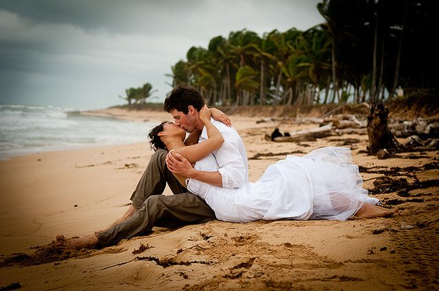 I miss kisses like these! caribbean wedding perhaps?    Caribbean Emotions Photography and Cinema Wedding Punta Cana Dominican Republic by caribbeanemotions, via Flickr
