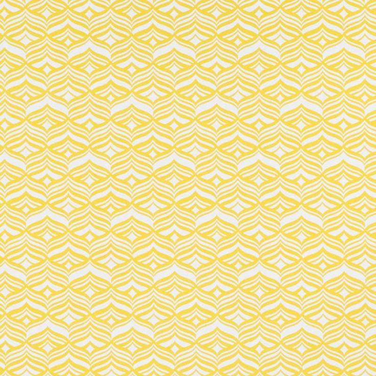 Warwick Fabrics : AVOCA, Colour SUNSHINE