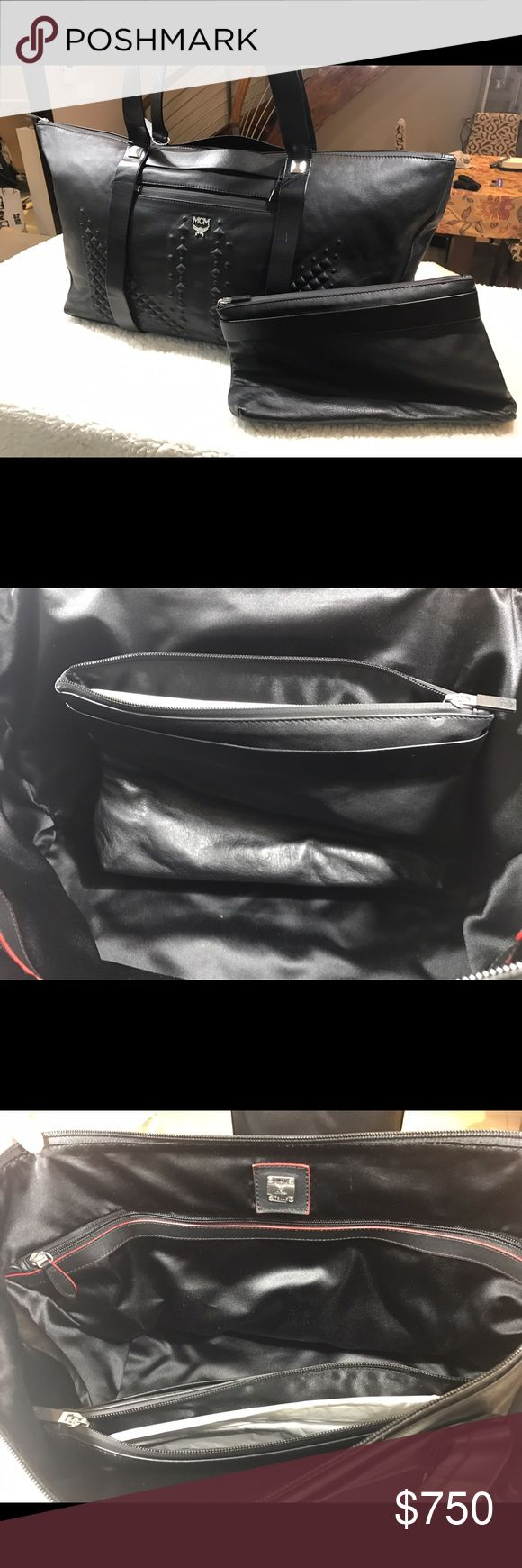 MCM unisex travel bag No flaws ! Original price retail for $1280 MCM Bags Travel Bags