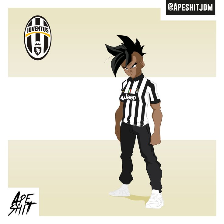 #Dragonball #juventus #italia  #soccer #Dbz #football #uub #Cartoon #saiyan…