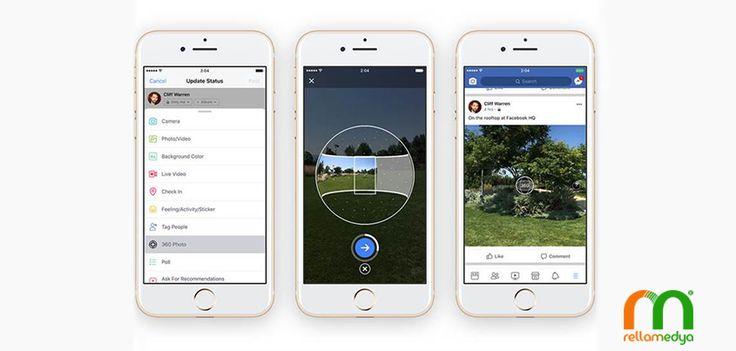 Facebook uygulamasına 360 derece fotoğraf çekme yeteneği geldi Devamı; http://www.rellablog.com/facebook-uygulamasina-360-derece-fotograf-cekme-yetenegi-geldi/ #Rellamedya #Teknoloji #Facebook