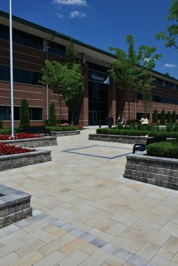 Unilock - Valasis Communications with Umbriano paver and Series3000 paver in Michigan