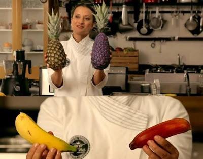 Agência cria frutas para divulgar liquidificador   Você está cansado de comer as mesmas frutas? Morango, banana, tangerina, kiwi, abacaxi, uva, limão, manga... Quer novas? Que tal abacaxuva, bananarango e kiwigerina? No Brasil elas existem! Duvida? Então veja o que a agência Ogilvy & Mather Brasil fez para divulgar o novo liquidificador da Philips Walita. http://curiosocia.blogspot.com.br/2013/05/agencia-brasileira-cria-frutas-para.html