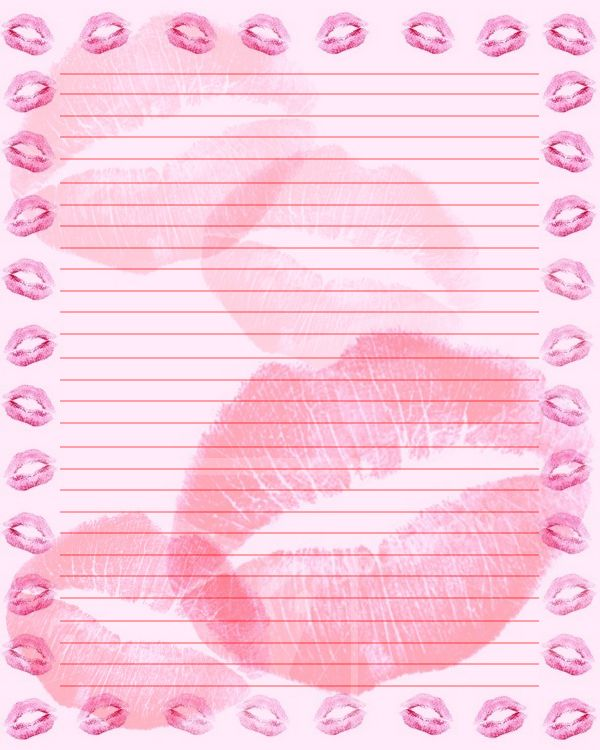 Kisses Stationary