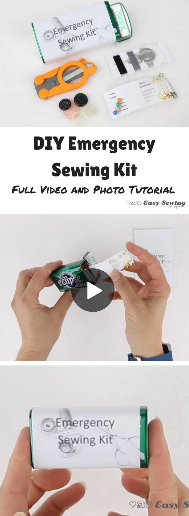 DIY Emergency Sewing Kit – Easy Sewing For Beginners