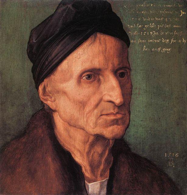 Πορτρέτο του Γερμανού ζωγράφου και χαράκτη Michael Wolgemout (1516)