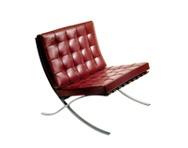 250LC Barcelona Chair (Ludwig Mies van der Rohe), manufacturer Knoll International