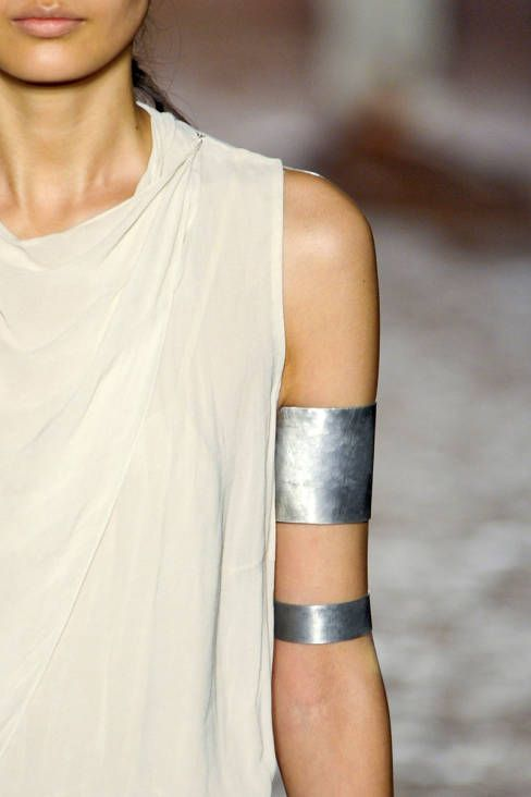 Wouldn't it be sweet if these arm cuffs fit average sized arms and not wrist sized models arms