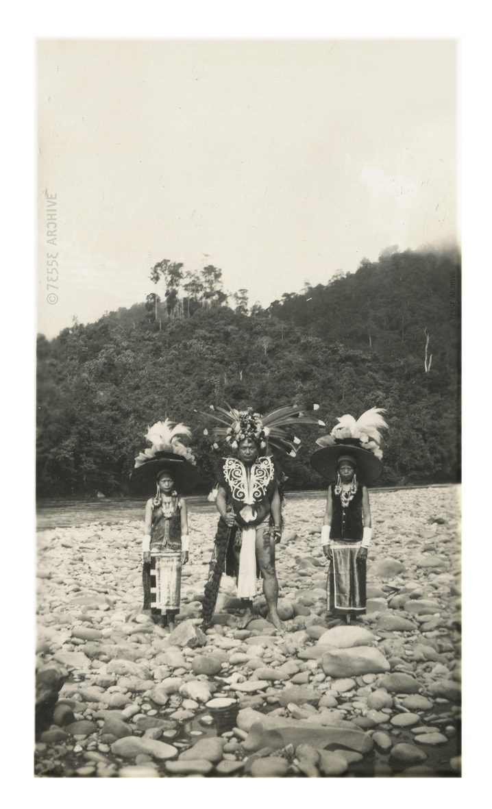 Dayak's, Indonesia around 1920's #indonesia #tribal