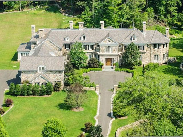 26,000 square foot home on the market in Greenwich, CT.