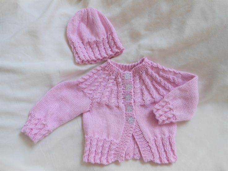 Little girl clothing, baby girl clothes UK, beanie hat, cotton cardigan, baby shower gift, newborn gift, gift for baby girl