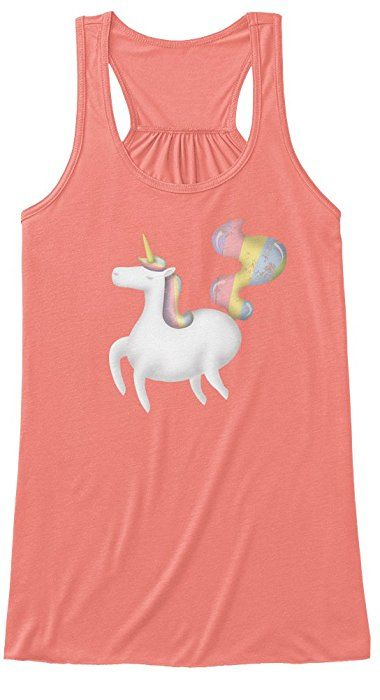 Rainbow unicorn rules!   #rainbow #unicorn #for-her #horse #magic #animal #amazon #tank-top #chic #trendy #girls #gift #original