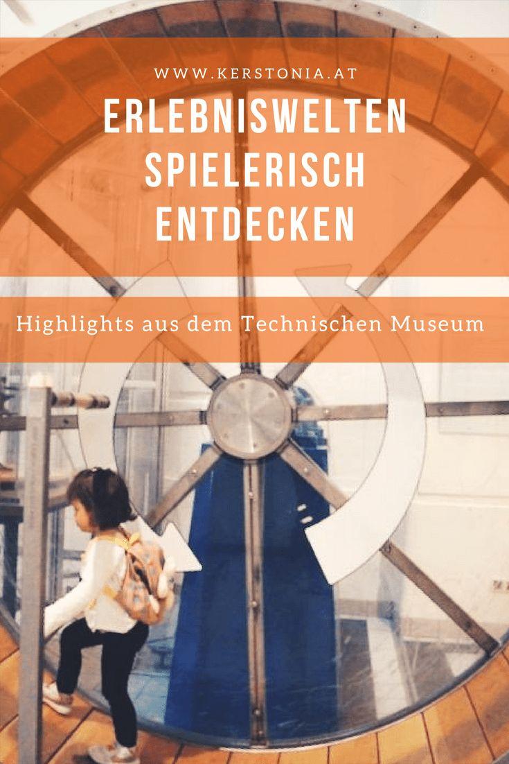 Erlebniswelten spielerisch entdecken - Ausflug ins Technische Museum Wien
