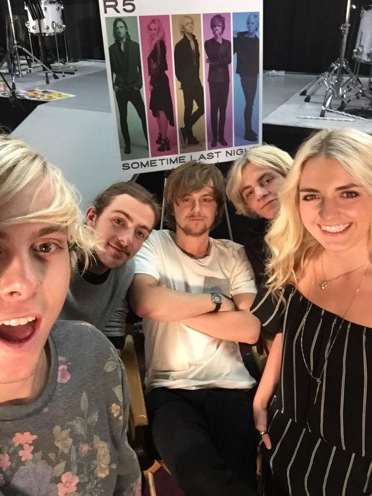 "RADIO DISNEY on Twitter: ""Here's a #RDExclusive of @officialR5 at their livestream today! They announced their European tour dates!"""