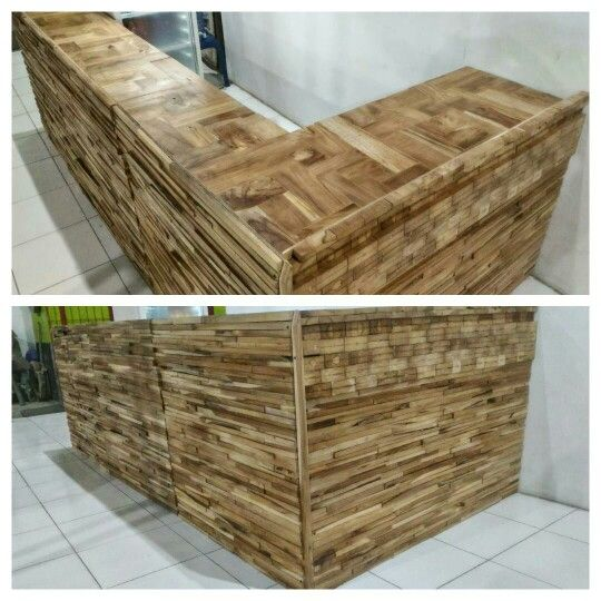 Pallet coffee bar #pallet #recyclepallet