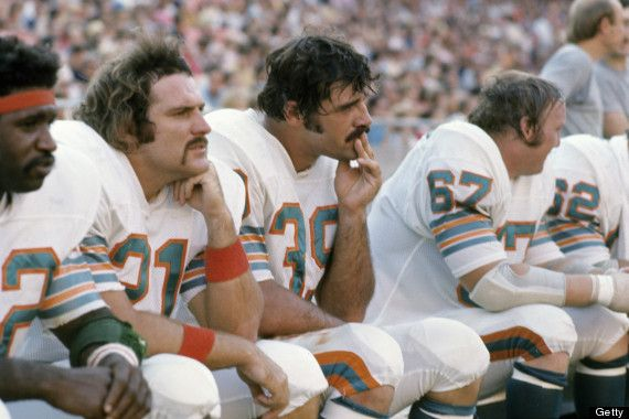 1972 MIAMI DOLPHINS PHOTOS | The 1972 Miami Dolphins Looked Like Your Dad (PHOTOS)