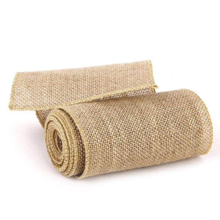 Tinksky 3M Hessian Jute Craft Ribbon Tablecloth for DIY Crafts Home Wedding Decoration (Brown) * Be sure to check out this awesome item.