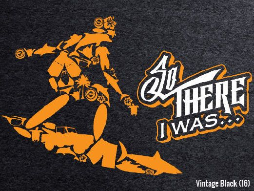 So There I Was... Surfer Bottle Breacher T-Shirt!