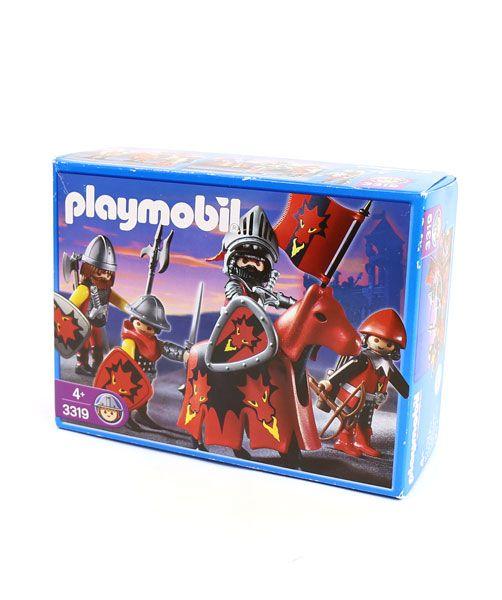 PLAYMOBIL(プレイモービル) 戦士 バイキング レッドドラゴン軍の騎士と家来 3319・758-281  #PLAYMOBIL