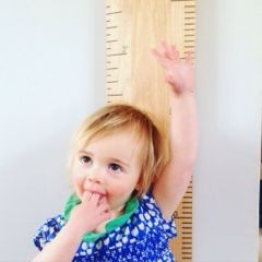 3 little ladies and me: Capturing the little ladies in time with the real ruler height chart company