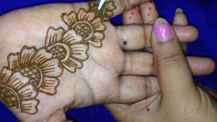 Henna Designs Easy | Simple Mehandi Designs for Hands 2017 | Arabic Mehndi Designs Floral #11