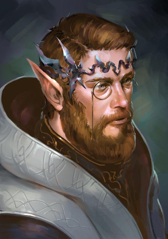 Elven Scholar by ChiamHarkem on DeviantArt