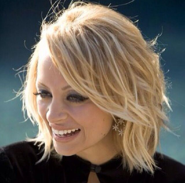 Nicole Richie - love  this hair color.