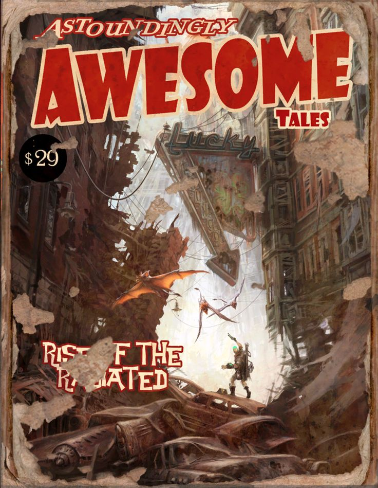 Awesome Tales #11 Book - Fallout 4 by PlanK-69 on DeviantArt