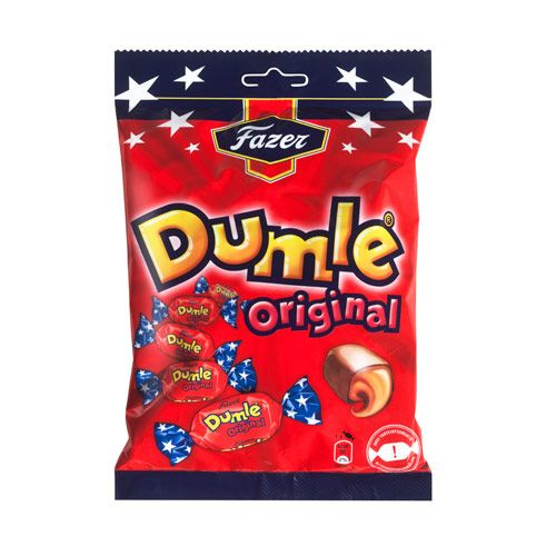 Fazer Dumle Toffee Bag - 220g $6.95