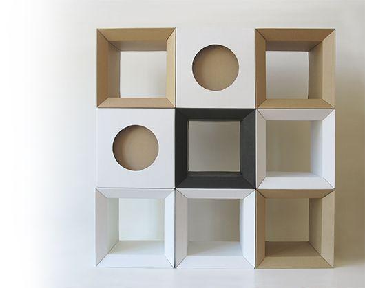 Paper Tiger Products Cardboar Furniture Shelving