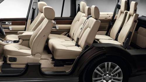2017 Land Rover Discovery - interior 1