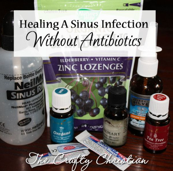 how to get rid of my sinus infection fast